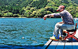 釣り人写真